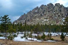 Τοπία βουνών στο εθνικό πάρκο Taganai Στοκ φωτογραφία με δικαίωμα ελεύθερης χρήσης