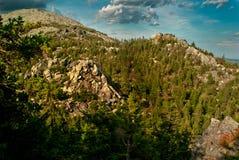 Τοπία βουνών στο εθνικό πάρκο Taganai Στοκ εικόνα με δικαίωμα ελεύθερης χρήσης