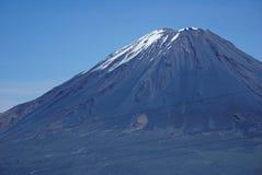 Τοπία βουνών Misti Στοκ εικόνα με δικαίωμα ελεύθερης χρήσης