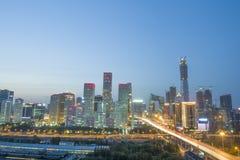 Τοπία πόλεων Bejing στοκ φωτογραφία