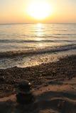 Τοπία της παραλίας της Τουρκίας, καλοκαίρι στοκ εικόνες