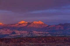 Τοπία του Utah Στοκ Εικόνες
