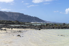 Τοπία Lanzarote Στοκ φωτογραφίες με δικαίωμα ελεύθερης χρήσης