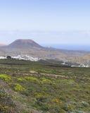 Τοπία Lanzarote Στοκ εικόνα με δικαίωμα ελεύθερης χρήσης