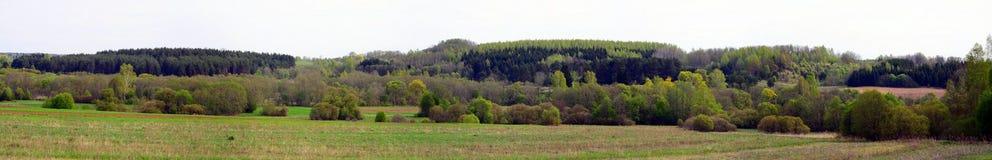 Τοπίο άνοιξη στην περιοχή Anyksciai στη Λιθουανία Στοκ εικόνα με δικαίωμα ελεύθερης χρήσης