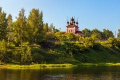 τοπίο αγροτικό Ρωσία Στοκ Φωτογραφία