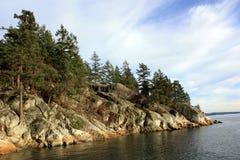 Τοπίο ακτών στο πάρκο φάρων Στοκ Φωτογραφίες