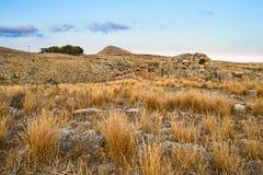 Τοπίο ακτών της Πελοποννήσου στοκ εικόνες