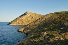 Τοπίο ακτών της Πελοποννήσου στοκ φωτογραφία με δικαίωμα ελεύθερης χρήσης