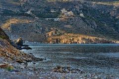 Τοπίο ακτών της Πελοποννήσου στοκ φωτογραφίες με δικαίωμα ελεύθερης χρήσης