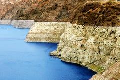 Τοπίο ακτών υδρομελιών λιμνών Στοκ εικόνες με δικαίωμα ελεύθερης χρήσης