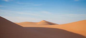 Τοπίο 3 αμμόλοφων άμμου ερήμων Στοκ Φωτογραφία