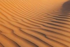 Τοπίο 5 αμμόλοφων άμμου ερήμων Στοκ φωτογραφίες με δικαίωμα ελεύθερης χρήσης