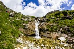 Τοπίο από τα βουνά Bucegi στη Ρουμανία Στοκ φωτογραφίες με δικαίωμα ελεύθερης χρήσης