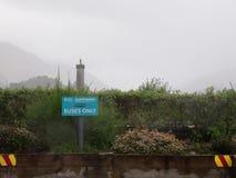 Τοπίο από τη βλάστηση και τα βουνά της Σκωτίας στοκ φωτογραφία με δικαίωμα ελεύθερης χρήσης