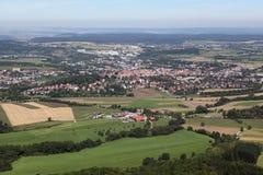 Τοπίο από Hohenzollern Στοκ εικόνες με δικαίωμα ελεύθερης χρήσης