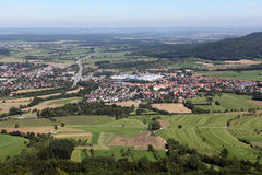 Τοπίο από Hohenzollern Στοκ Φωτογραφίες