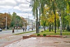 τοπίο αστικό Στοκ Φωτογραφίες