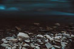 Τοπίο, βουνά και δασικό υπόβαθρο Στοκ Φωτογραφία