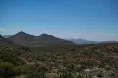 Τοπίο βουνών, ελεύθερο κράτος, Νότια Αφρική Στοκ Φωτογραφίες