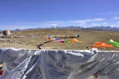 Τοπίο βουνών λιβαδιών και Nianbaoyuze Goluo Στοκ εικόνες με δικαίωμα ελεύθερης χρήσης