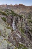 Τοπίο βουνών καταρρακτών Στοκ Εικόνα