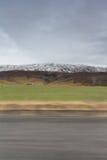 Τοπίο βουνών με την κίνηση Στοκ Φωτογραφία