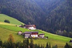 Τοπίο βουνών δολομιτών στοκ φωτογραφία με δικαίωμα ελεύθερης χρήσης
