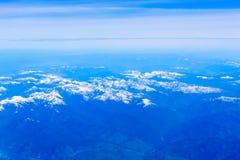 Τοπίο βουνών πέρα από τη Βρετανική Κολομβία Στοκ Εικόνες