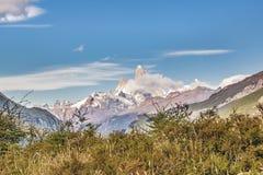 Τοπίο βουνών σειράς των Άνδεων, Παταγωνία - Αργεντινή Στοκ Φωτογραφίες