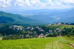 Τοπίο βουνών σε Dragobrat Ουκρανία στοκ εικόνες με δικαίωμα ελεύθερης χρήσης