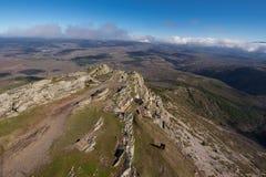 Τοπίο βουνών σε Pena το Francia, διάσημος προορισμός σε Σαλαμάνκα, Ισπανία στοκ εικόνες