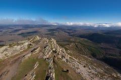 Τοπίο βουνών σε Pena το Francia, διάσημος προορισμός σε Σαλαμάνκα, Ισπανία στοκ εικόνα με δικαίωμα ελεύθερης χρήσης