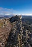Τοπίο βουνών σε Pena το Francia, διάσημος προορισμός σε Σαλαμάνκα, Ισπανία στοκ φωτογραφίες με δικαίωμα ελεύθερης χρήσης