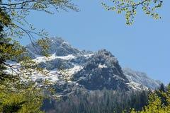 Τοπίο βουνών στα Πυρηναία, Γαλλία Στοκ Εικόνα