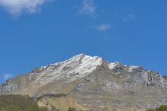 Τοπίο βουνών στα Πυρηναία, Γαλλία Στοκ φωτογραφίες με δικαίωμα ελεύθερης χρήσης