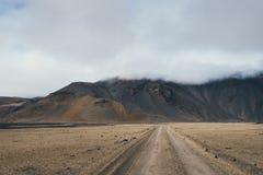 Τοπίο βουνών στην Ισλανδία Στοκ εικόνα με δικαίωμα ελεύθερης χρήσης