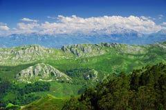 Τοπίο βουνών στο εθνικό πάρκο Picos de Ευρώπη, αστουρίες στοκ φωτογραφία με δικαίωμα ελεύθερης χρήσης