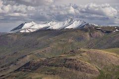 Τοπίο βουνών του Ιμαλαίαυ από την εθνική οδό Manali Leh, Leh, Ladak Στοκ Φωτογραφία