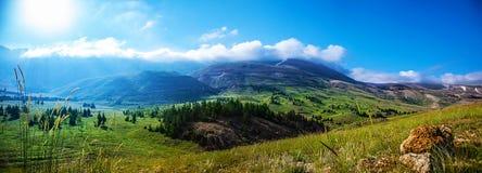 Τοπίο βουνών Στοκ Εικόνα