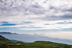 Τοπίο βουνών στοκ εικόνες με δικαίωμα ελεύθερης χρήσης