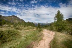 Τοπίο 1 βουνών Στοκ Φωτογραφία