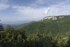 Τοπίο βουνών Apuseni, Τρανσυλβανία, Ρουμανία στοκ εικόνα