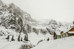 Τοπίο βουνών, cabi Malaiesti Στοκ εικόνες με δικαίωμα ελεύθερης χρήσης
