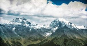 Τοπίο βουνών, Canadian Rockies Στοκ εικόνες με δικαίωμα ελεύθερης χρήσης
