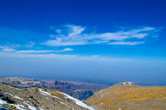 Τοπίο βουνών Changbai Στοκ Εικόνα