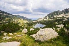 Τοπίο βουνών Pirin Στοκ Εικόνα