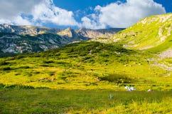 Τοπίο βουνών Rila Στοκ φωτογραφία με δικαίωμα ελεύθερης χρήσης