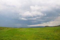 Τοπίο γαλλικό Auvergne Massif du Sancy στοκ εικόνα