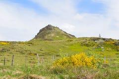 Τοπίο γαλλικό Auvergne Massif du Sancy στοκ φωτογραφία
